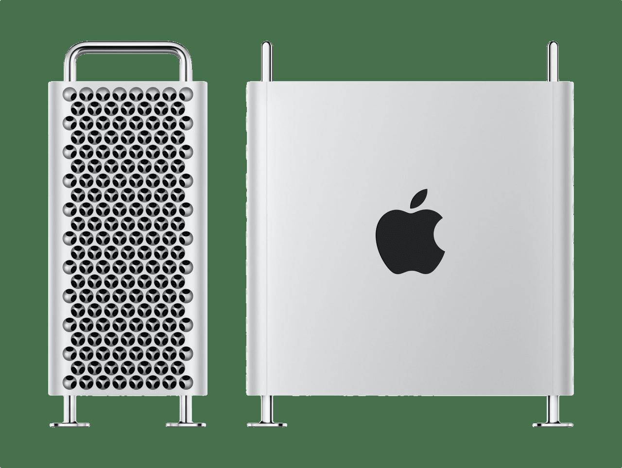Silber Apple Mac Pro.1