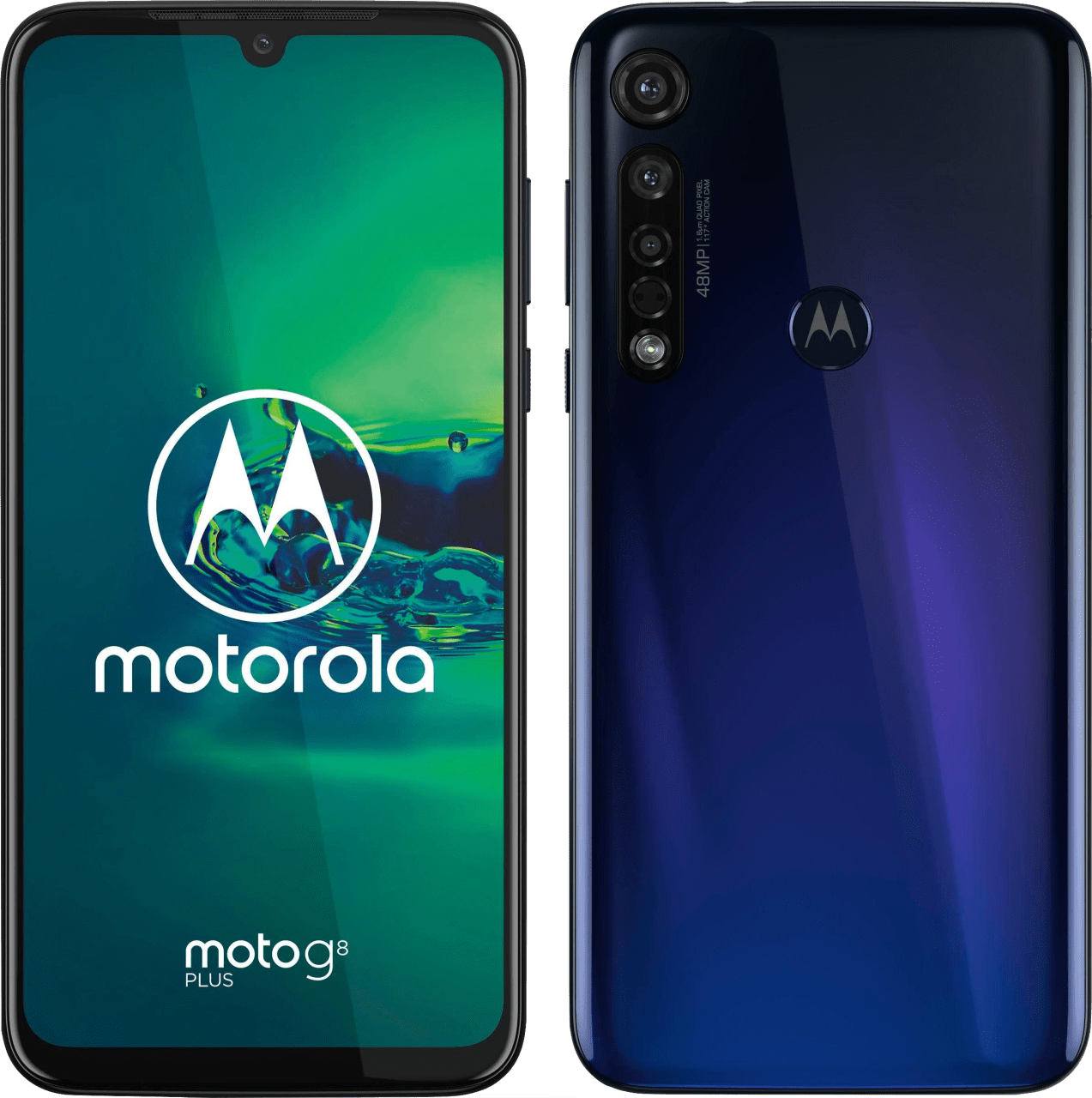 Blau Motorola G8 Plus 64GB.1