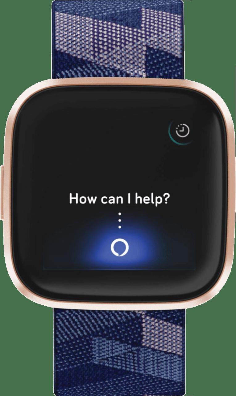 Navy blue/Pink Fitbit Versa 2 SE Smartwatch.3