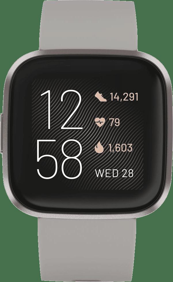Stone Fitbit Versa 2 Smartwatch.4