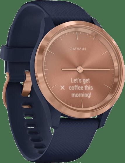 Navy Blue Garmin Vivomove 3s Smartwatch.3