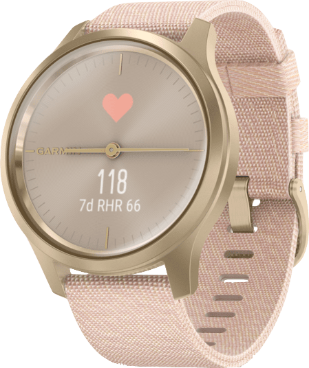 Erröten Rosa Garmin Vivomove Style Armbanduhr.2
