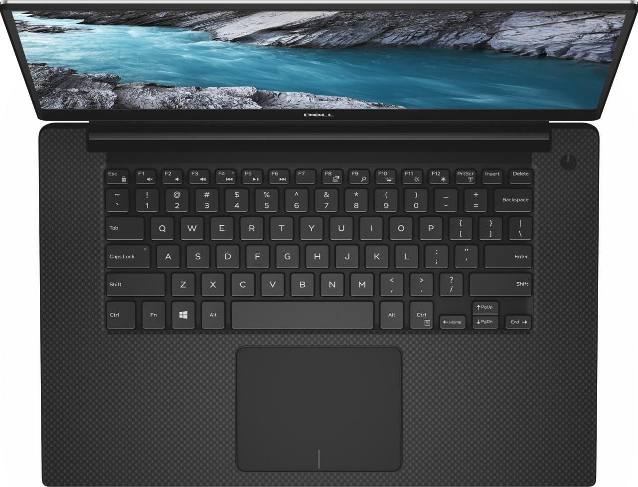 Black / Silver Dell XPS 15 7590.4