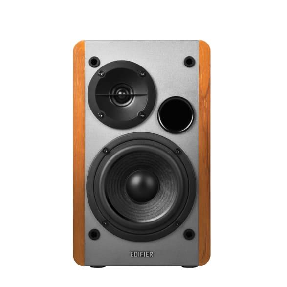 Wood Edifier Studio R1280DB Active 2.0 bookshelf HiFi speaker.3