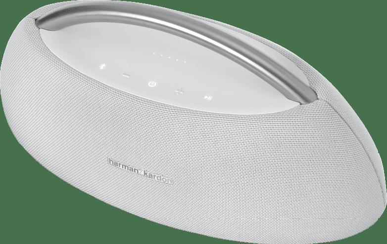 Weiß Harman Kardon GO + PLAY Bluetooth speaker.4