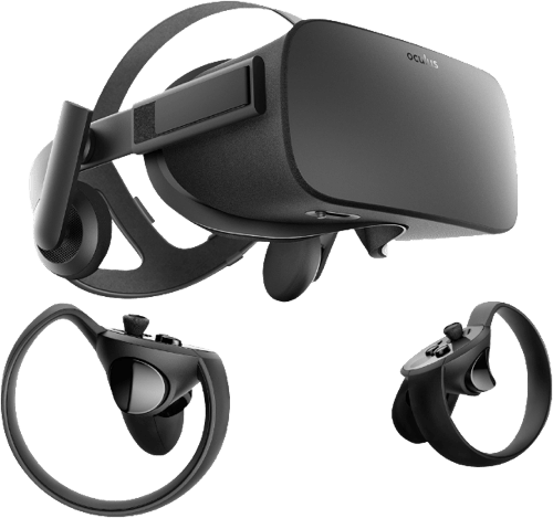 Black Oculus Rift Bundle (2 Sensors).2