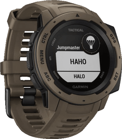 Braun Garmin Instinct® - Tactical Edition GPS-Sportuhr.2