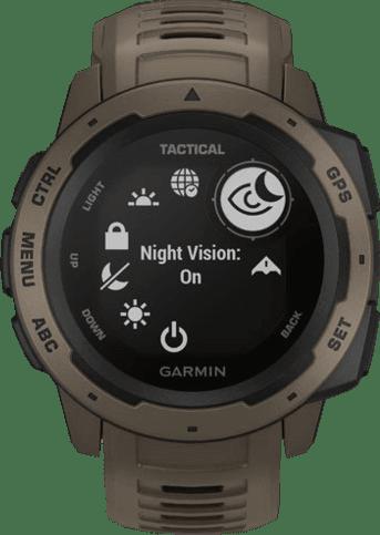 Braun Garmin Instinct® - Tactical Edition GPS-Sportuhr.3