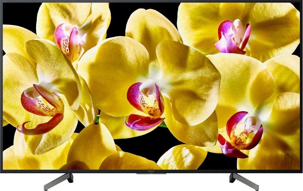 """Black Sony TV 49"""" XG80.1"""