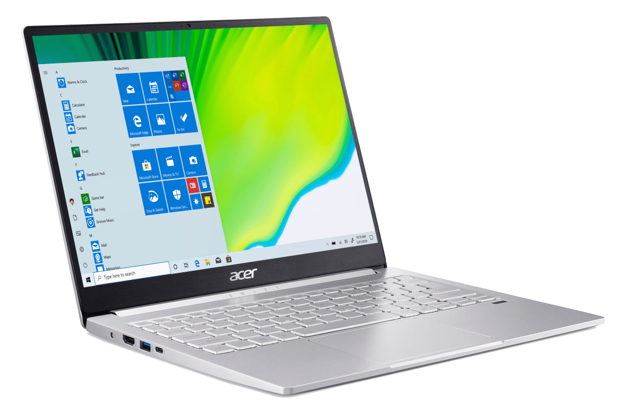 Silver Acer Swift 3 SF313-52-71Y7.2