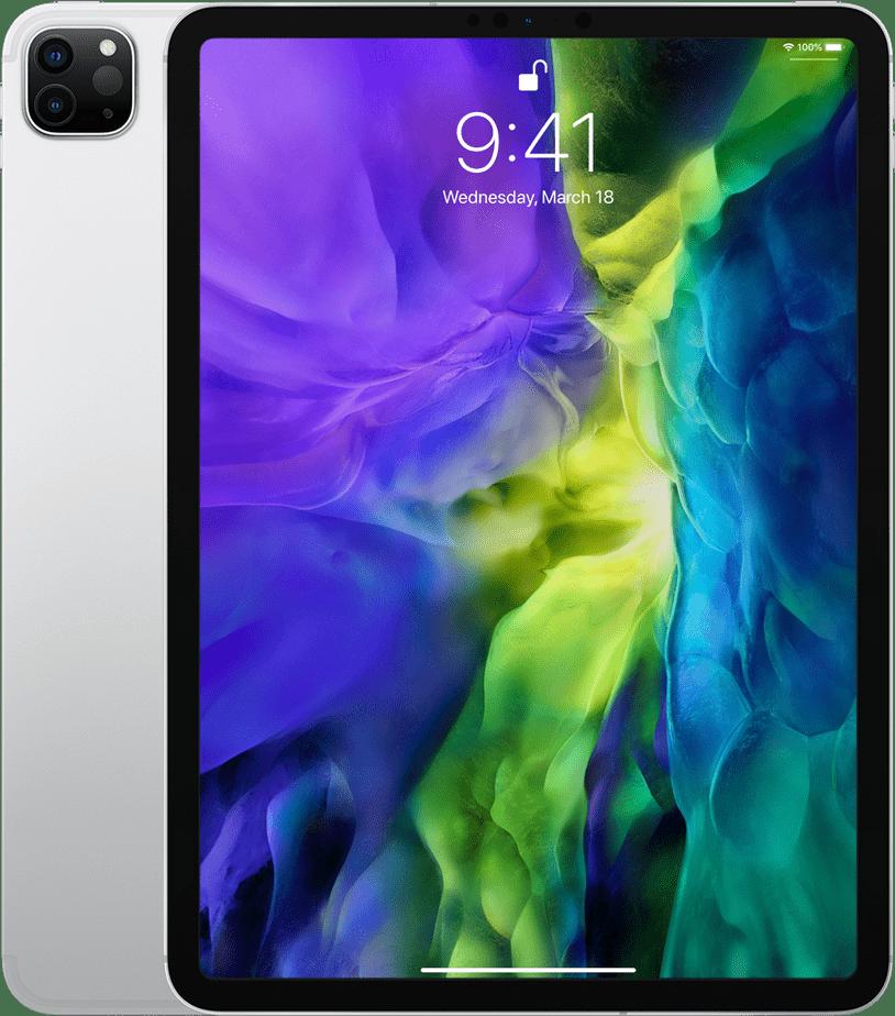 "Silver Apple 11"" iPad Pro Wi-Fi + LTE 1TB (2020).1"