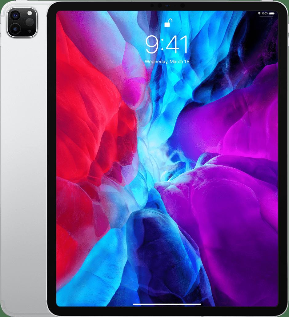 "Silver Apple 12.9"" iPad Pro Wi-Fi + LTE 1TB (2020).1"