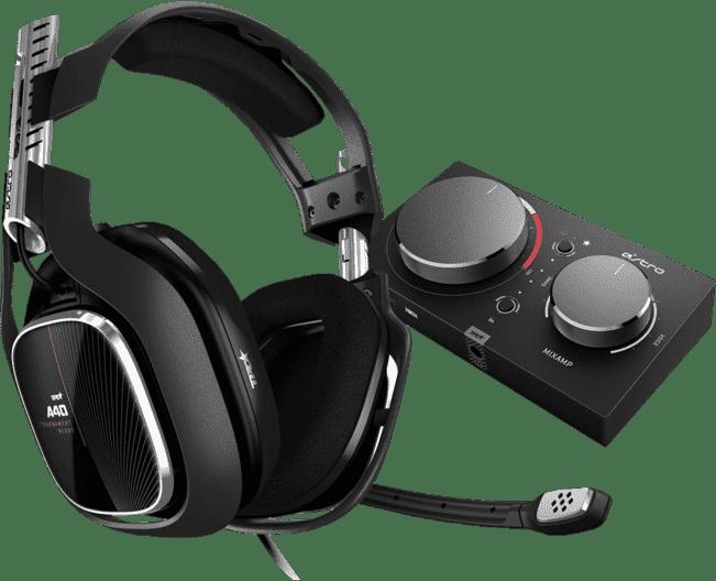 Schwarz ASTRO GAMING Kopfhörer A40 TR + MixAmp Pro TR, Gen 4.1