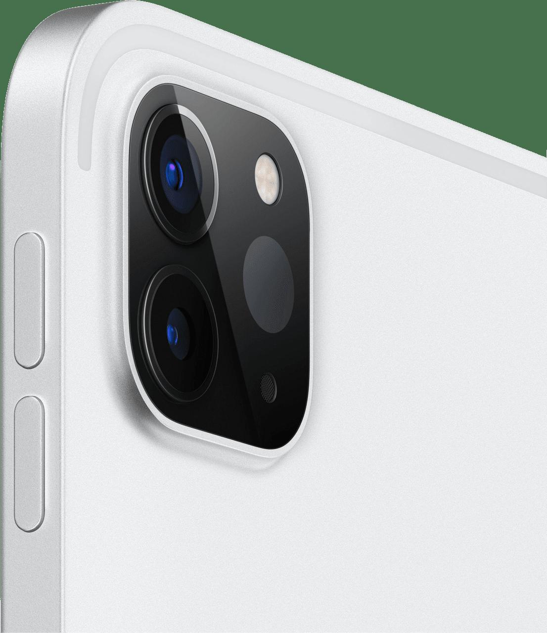 "Silver Apple 12.9"" iPad Pro Wi-Fi + LTE 128GB (2020).3"