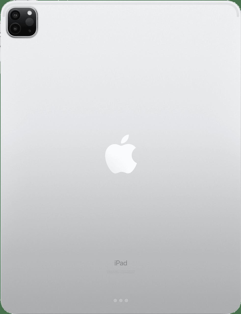 "Silver Apple 12.9"" iPad Pro Wi-Fi + LTE 128GB (2020).4"