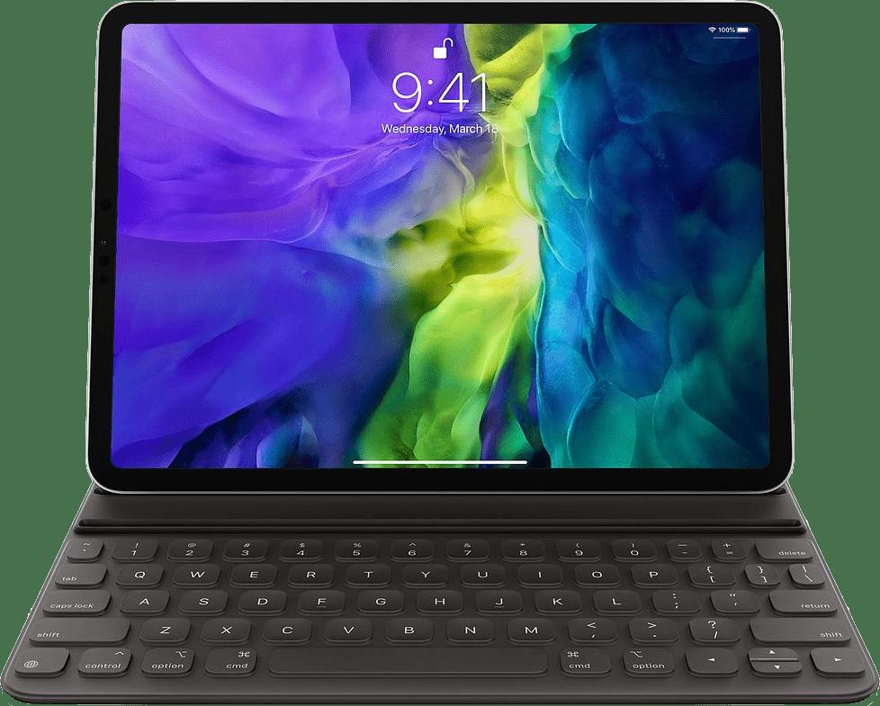 Grau Apple Smart Tastatur Folio (2020).1