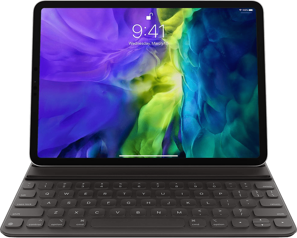Dark Grey Apple Smart Keyboard Folio (2020).1
