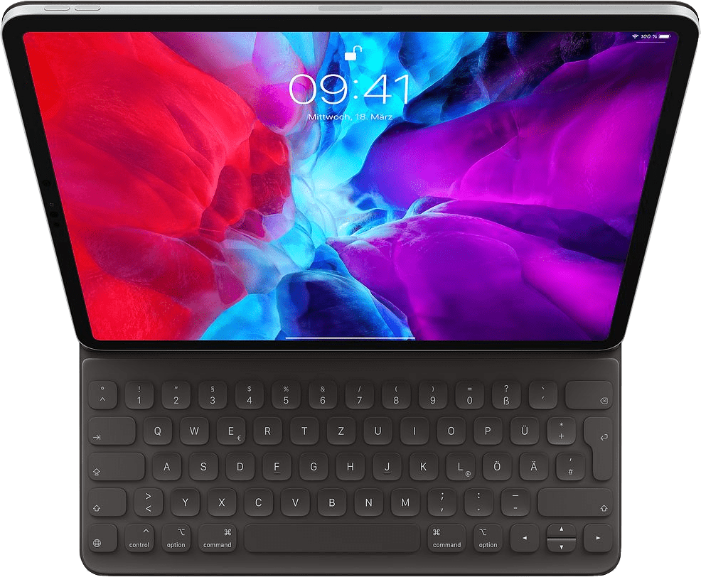 Dark Grey Apple Smart Keyboard Folio (2020).1