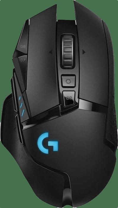 Black Logitech G502 HERO.1