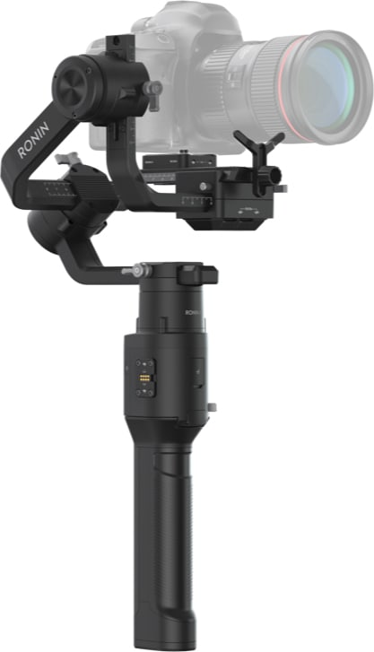 Black DJI Ronin-S Essentials Kit.4