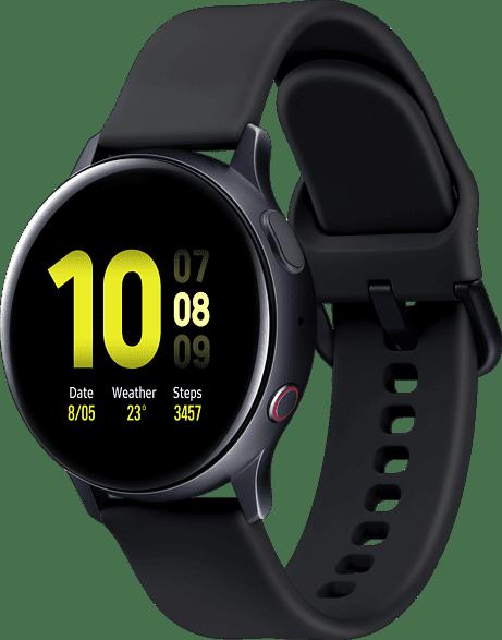 Aqua Black Samsung Galaxy Watch Active2 LTE, 40mm.3