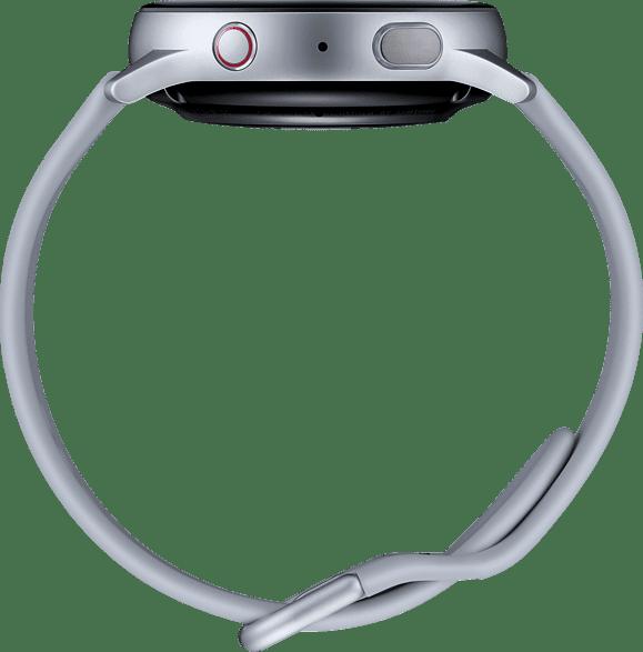 Plata Samsung Galaxy Watch Active2 LTE, 40mm Aluminium case, Sport band.4