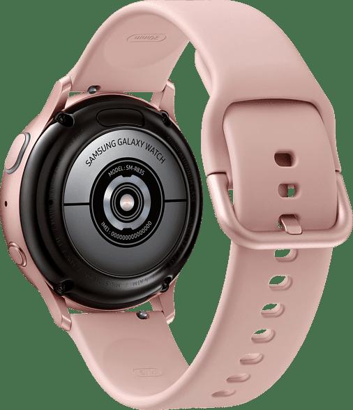 Roségold Samsung Galaxy Watch Active2 LTE, 40 mm Aluminium-Gehäuse, Sportarmband.3