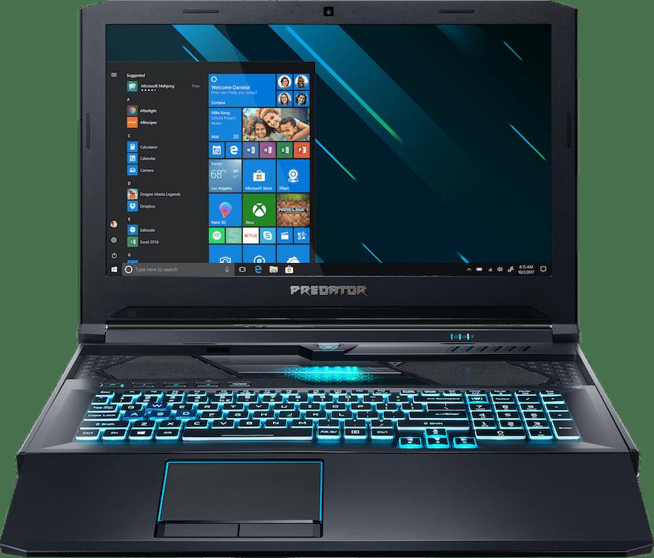 Black / Blue Acer Predator Helios 700 PH717-71-70Z1.1