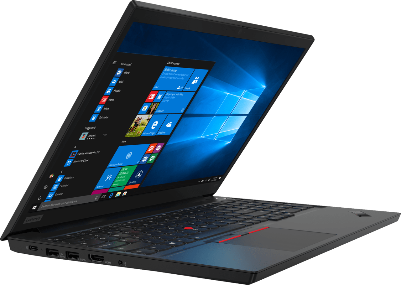 Black Lenovo ThinkPad E15.3