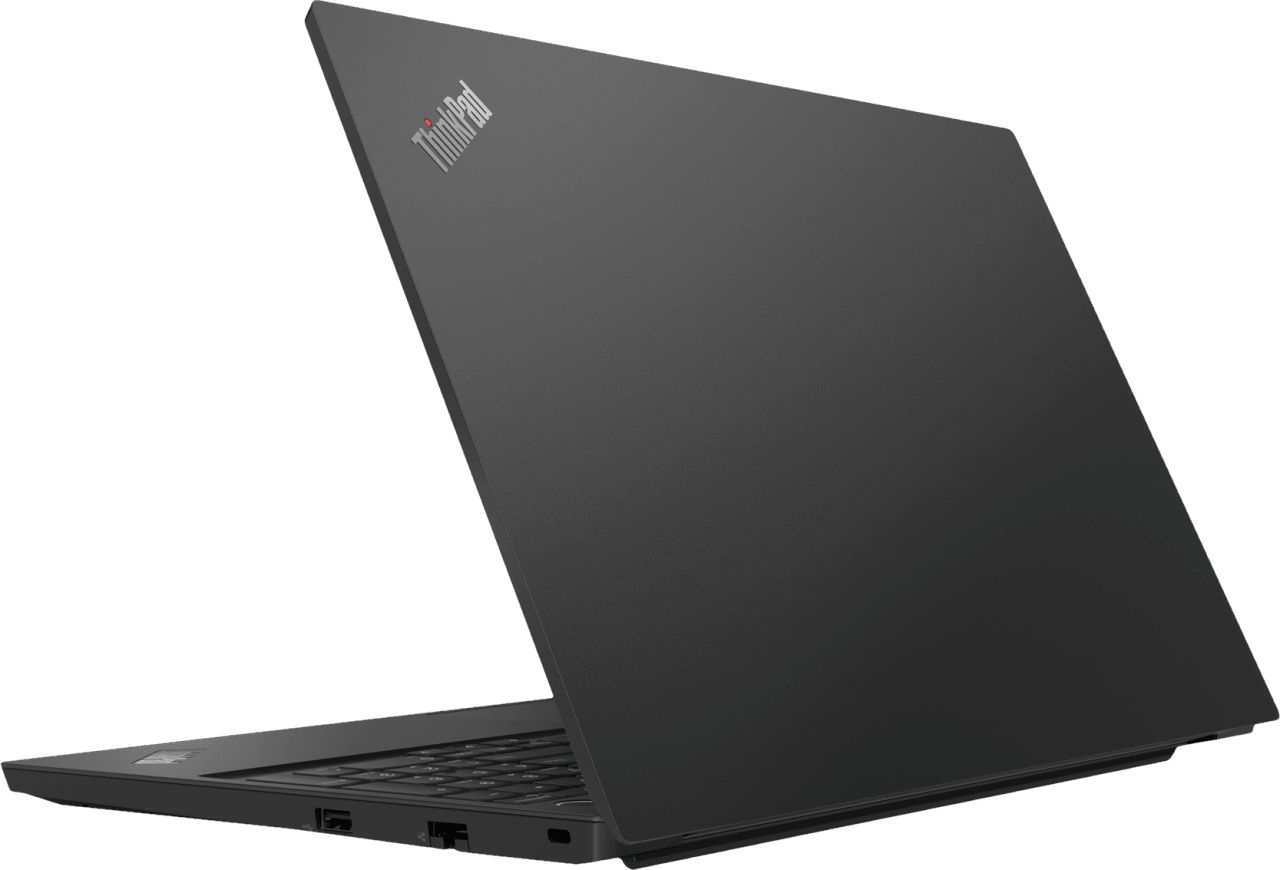 Black Lenovo ThinkPad E15.4