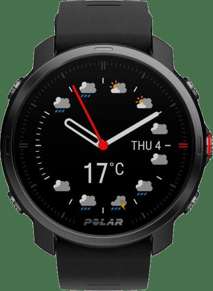 Black Polar Grit X GPS Sports watch, M/L.1