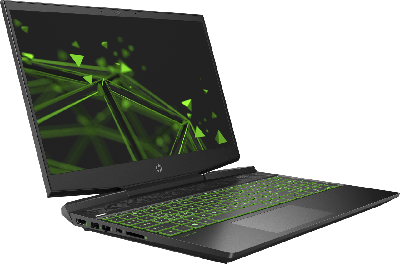 Shadow Black / Acid Green HP Pavilion Gaming 15-dk1233ng - Gaming Laptop - Intel® Core™ i7-10750H - 16GB - 512GB PCIe - NVIDIA® GeForce® GTX™ 1650 Ti.3