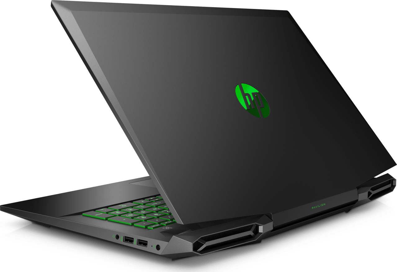 Shadow Black / Acid Green HP Pavilion Gaming 17-cd1263ng.4