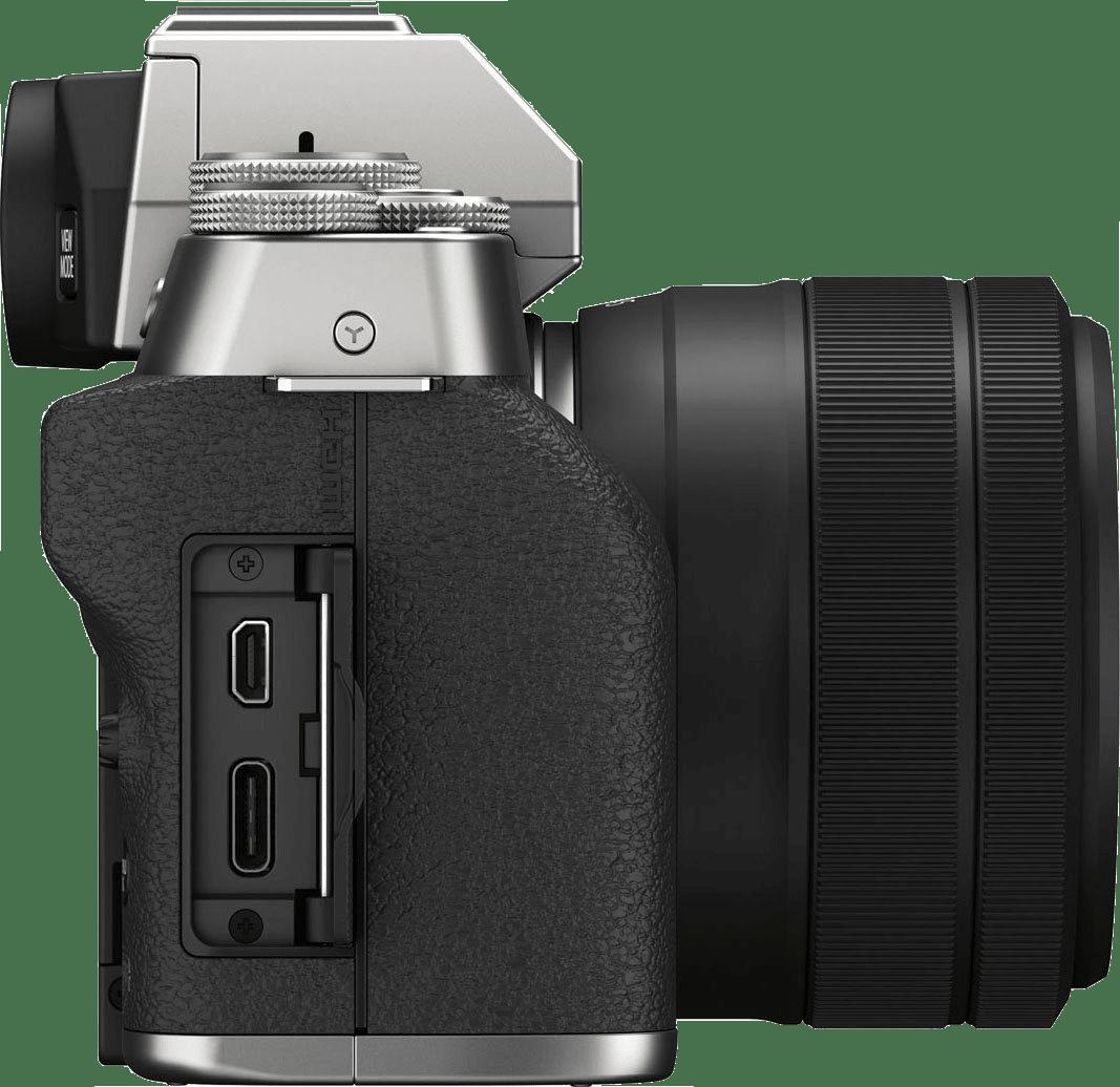 Silber FUJIFILM X-T200 (XC 15-45mm Lens).3