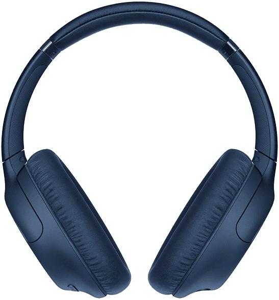 Blau Sony WH-CH710N Over-ear Bluetooth-Kopfhörer.1