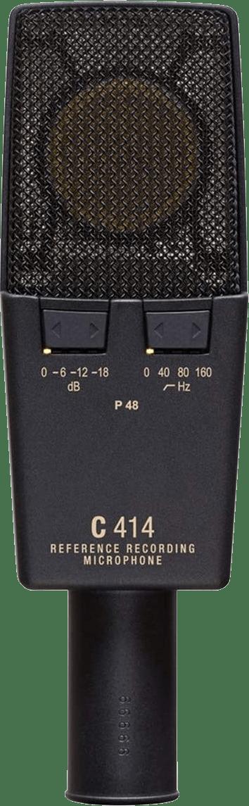 Dunkelgrau / Gold AKG C414 XLII Kondensatormikrofon.3