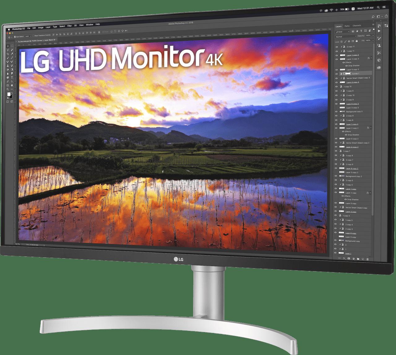 """Blanco LG - 32"""" Ultra HD 4K 32UN650.3"""