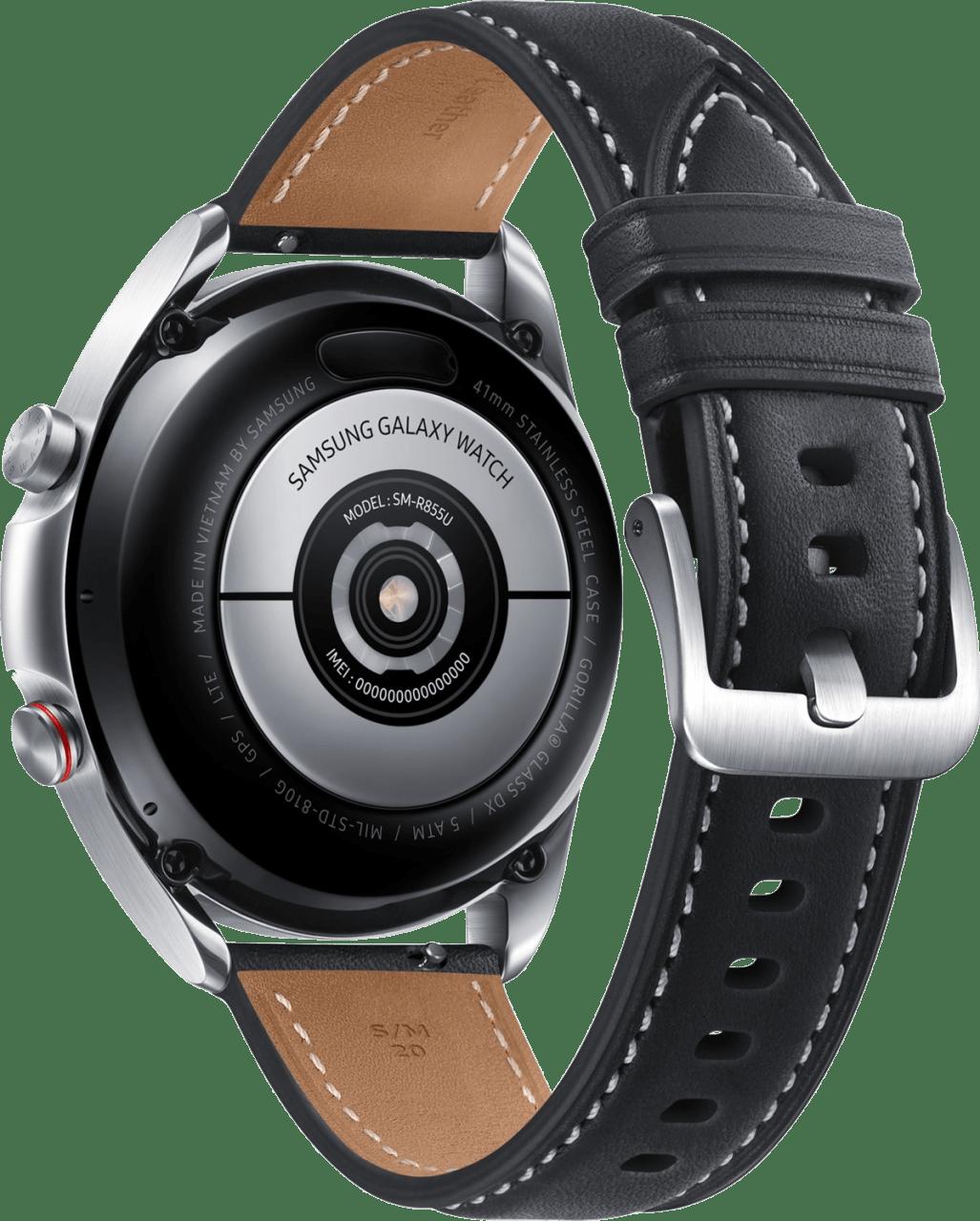 Mystic Silver Samsung Galaxy Watch 3 (LTE), 41mm.3