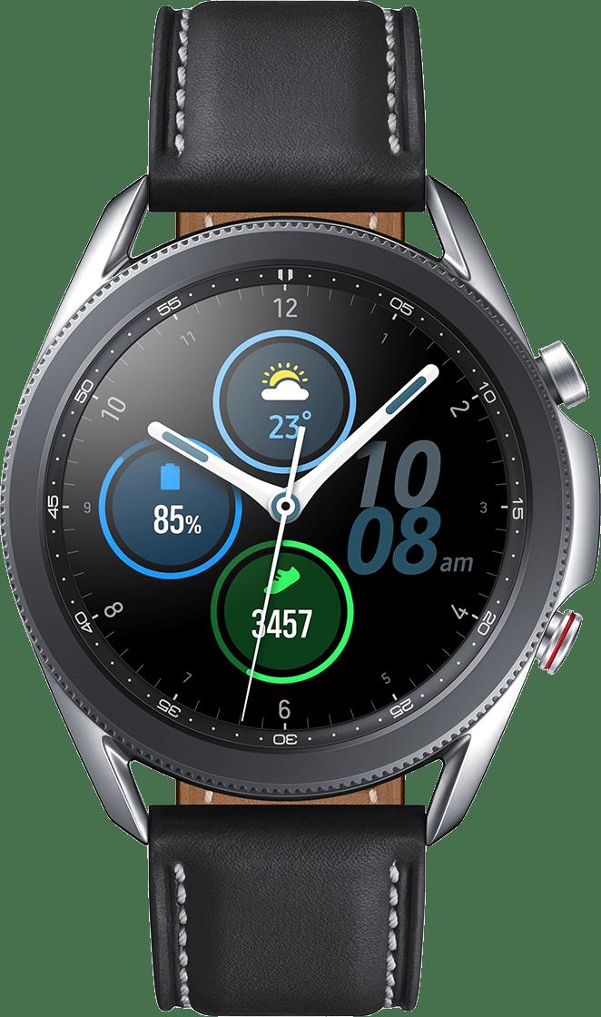 Mystic Silber Samsung Galaxy Watch 3 (LTE), 45mm.2