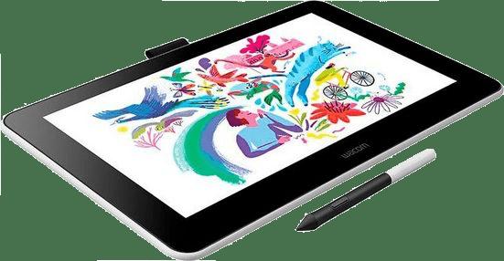 Weiß Wacom One Graphic Tablet.2