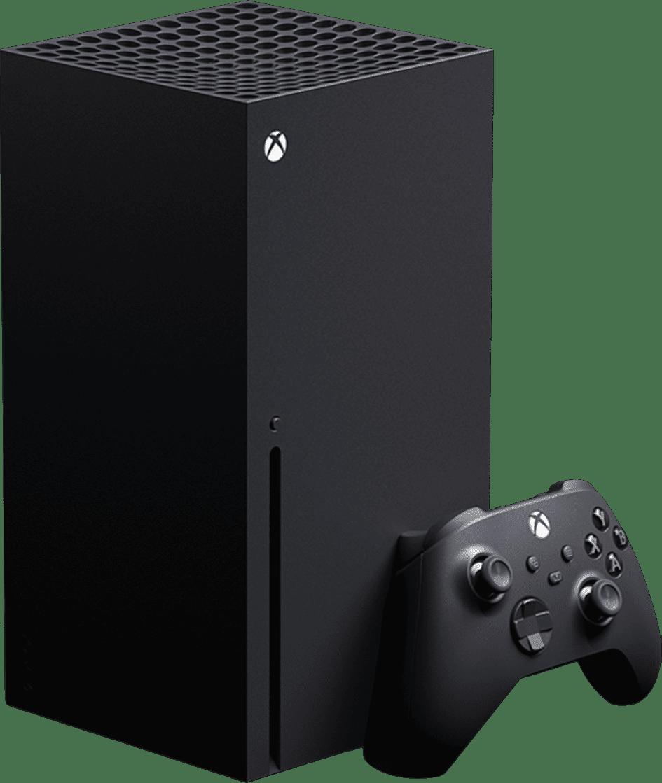 Schwarz Microsoft Xbox Series X.1