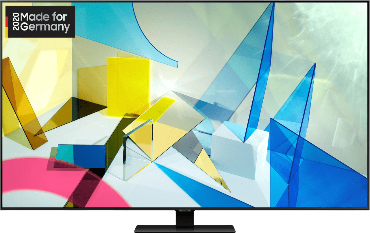 "Black Samsung TV 65"" Q80T.1"