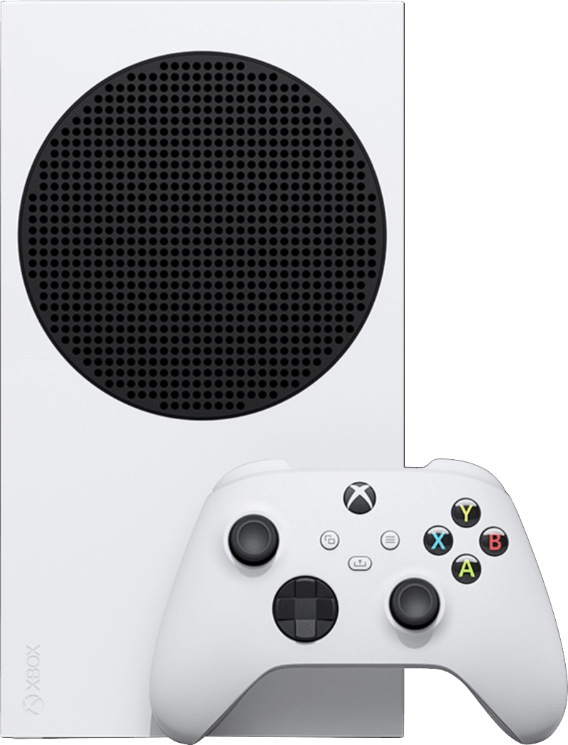 Weiß Microsoft Xbox Series S.2
