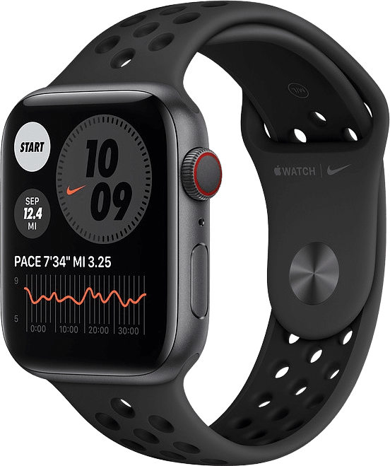 Anthracite/black Apple Watch Nike Series 6 GPS + Cellular , 44mm.1