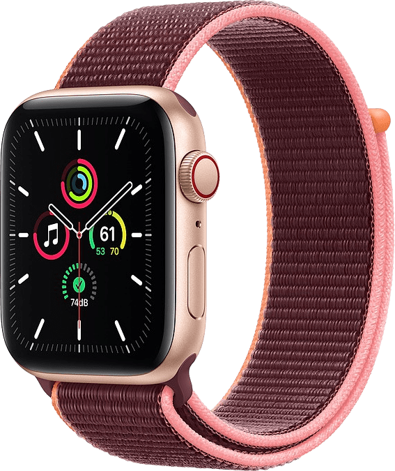 Plum Apple Watch SE GPS + Cellular, 44mm.1