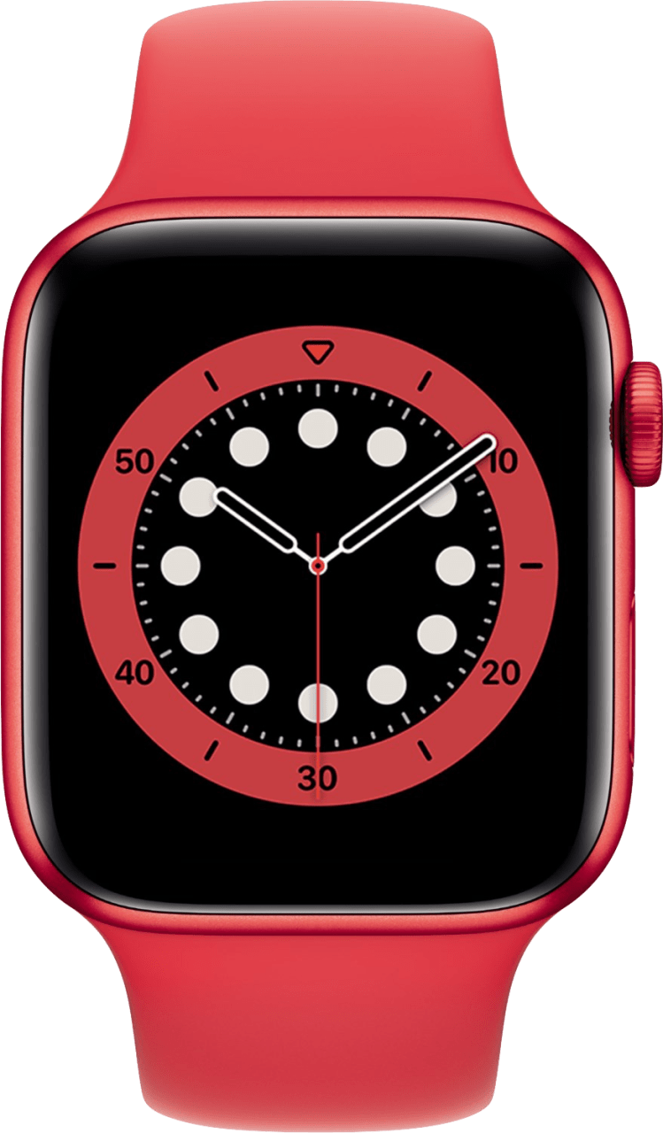 rot Apple Watch Series 6 GPS + Cellular , 44mm.2
