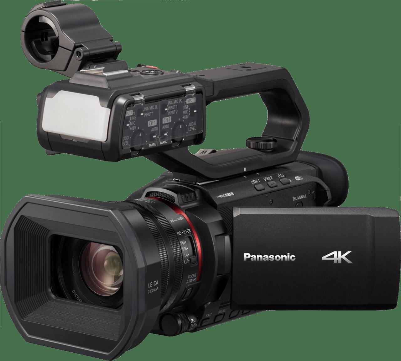 Zwart Panasonic HC-X2000E.1