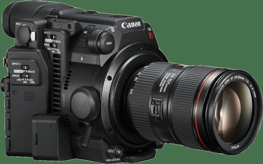 Black Canon EOS C200 Kit (24-105mm Lens).4