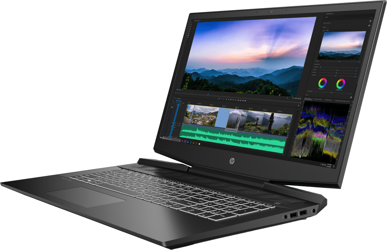 Shadow Black HP Pavilion Gaming 17-cd1515ng - Gaming Laptop - Intel® Core™ i7-10750H - 16GB (DDR4) - 1TB PCIe - NVIDIA® GeForce® RTX™ 2060 Max-Q (6GB).4