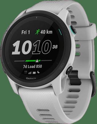 Wit-grijs Garmin Forerunner 745 GPS Sports watch.1